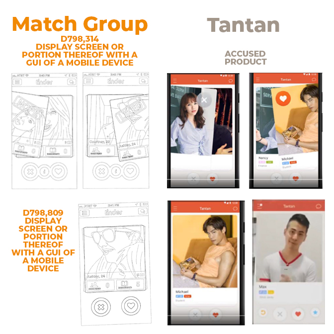 Match Group vs Tantan - WD Texas - 19 March 2018