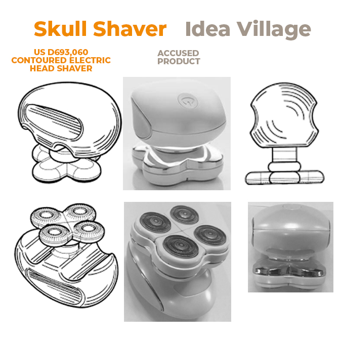 Skull Shaver vs Idea Village - US DCt NJ - 20 March 2018