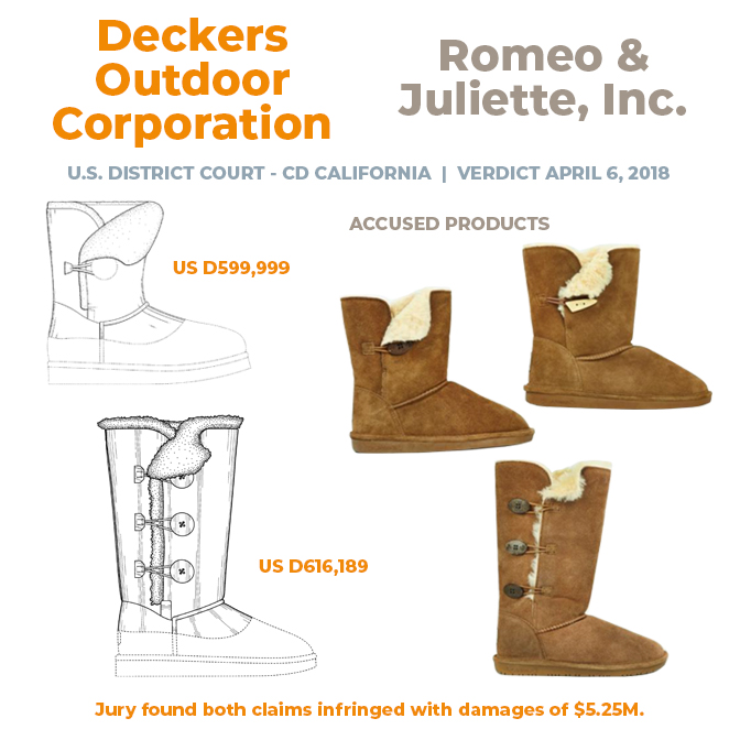 Deckers v. Romeo and Juliette