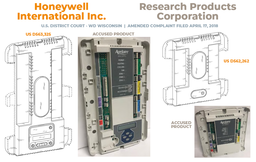 Honeywell vs. Research Products - Post