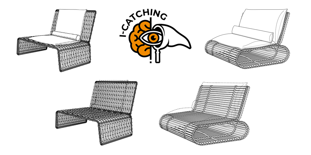 D819352 and D819353 - Stori Modern - Lounge Chairs